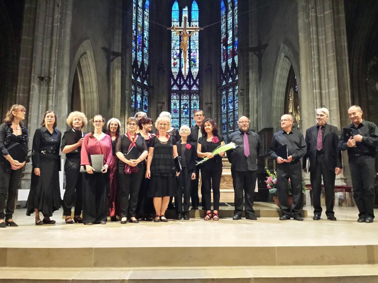 Choeur BUXTEHUDE en Bourgogne - Concert du 23/06/15